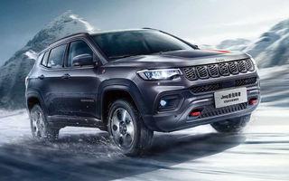 Jeep Compass facelift a fost prezentat în China: mici modificări de design și îmbunătățiri pentru interior