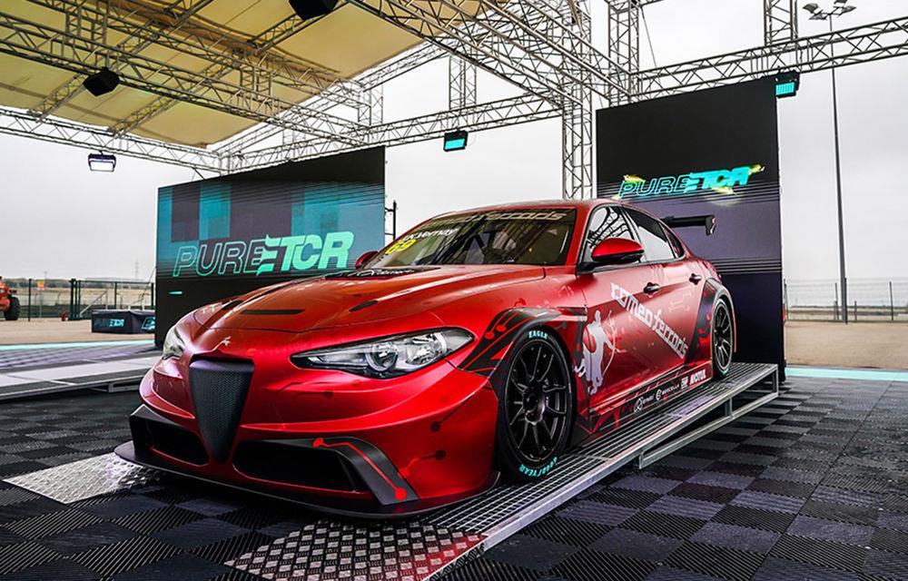 Alfa Romeo Giulia va concura în viitorul campionat dedicat turismelor electrice: modelul a fost pregătit de Romeo Ferraris și dezvoltă 670 CP - Poza 2