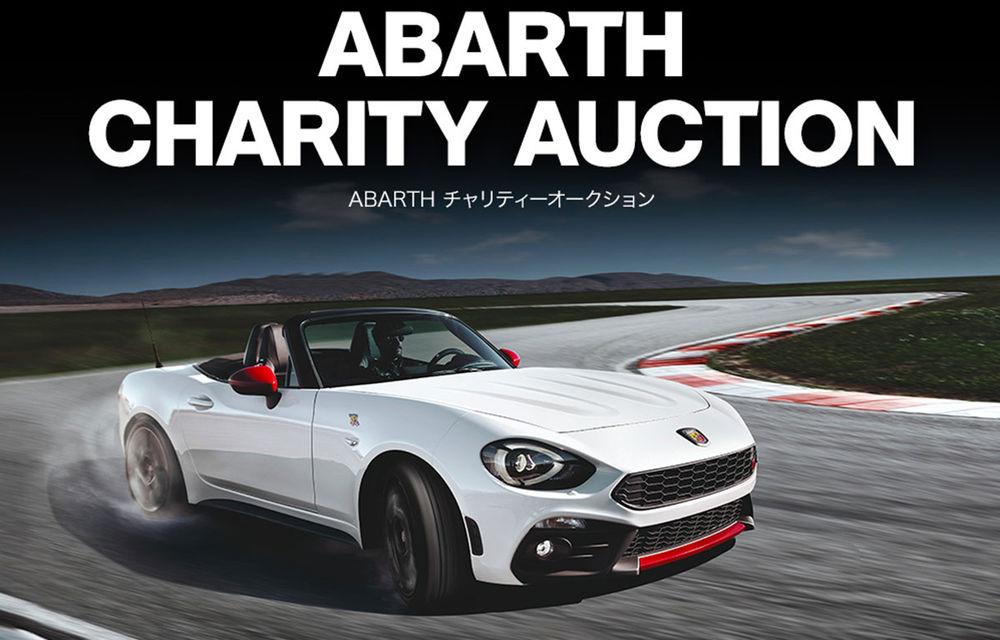 Ultimul exemplar Abarth 124 Spider dedicat pieței din Japonia a fost scos la licitație: banii vor fi donați în scopuri caritabile - Poza 2