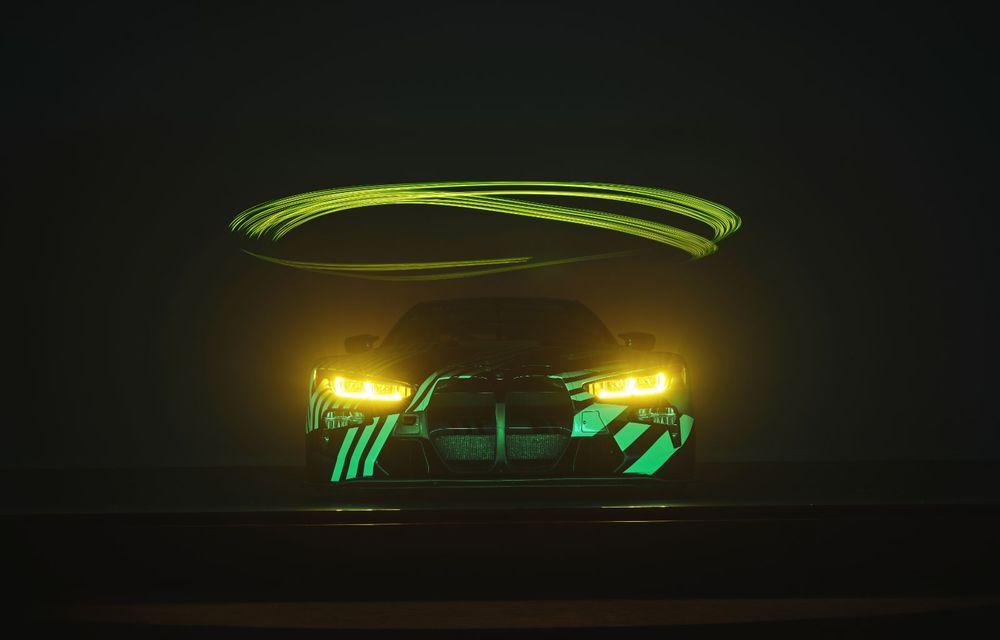 Imagini noi cu prototipul viitorului BMW M4 GT3: modelul de competiții debutează în sezonul din 2021 - Poza 6
