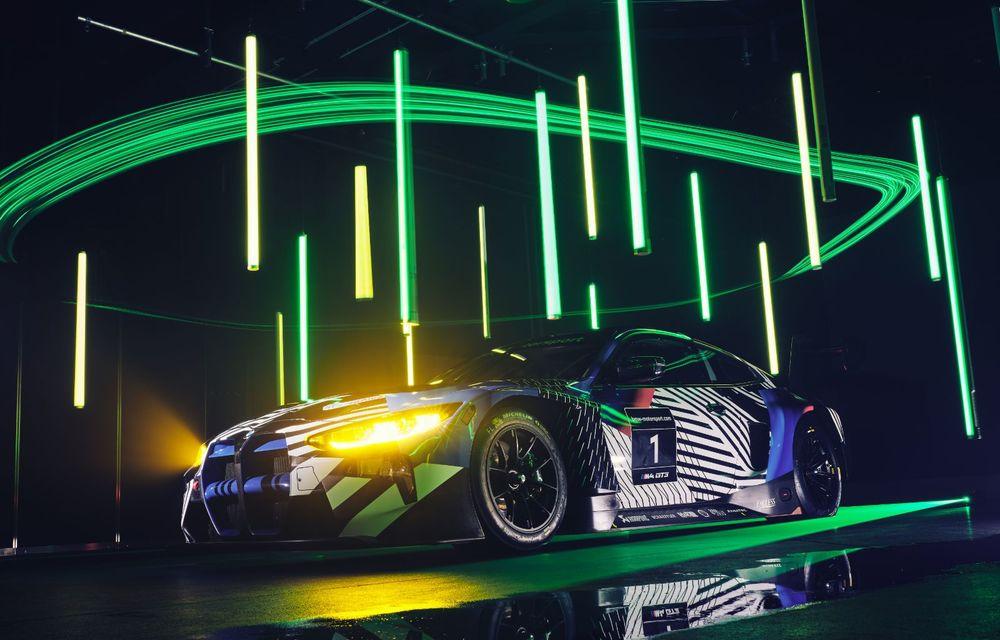 Imagini noi cu prototipul viitorului BMW M4 GT3: modelul de competiții debutează în sezonul din 2021 - Poza 3