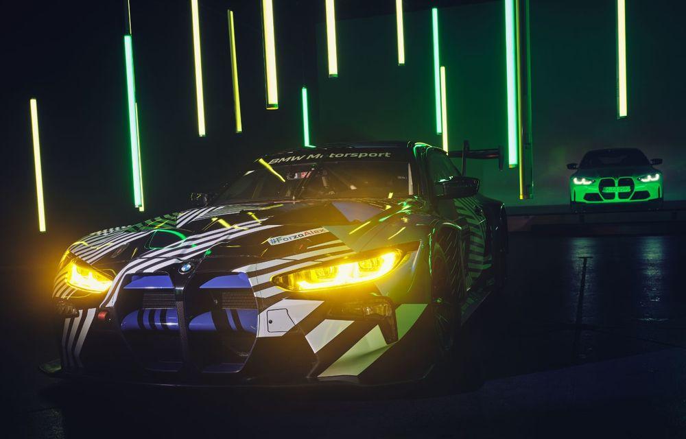 Imagini noi cu prototipul viitorului BMW M4 GT3: modelul de competiții debutează în sezonul din 2021 - Poza 5