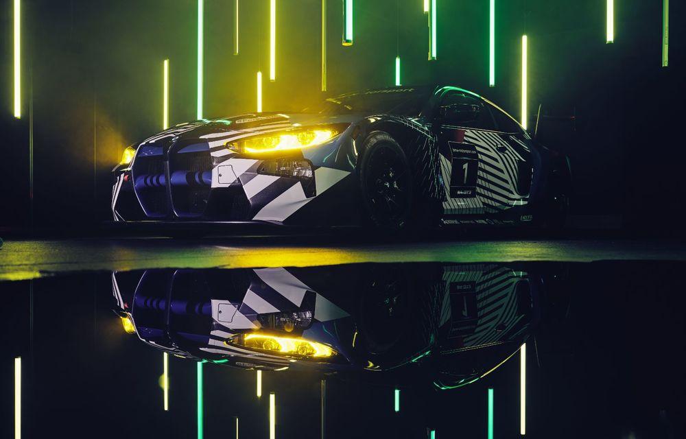 Imagini noi cu prototipul viitorului BMW M4 GT3: modelul de competiții debutează în sezonul din 2021 - Poza 4