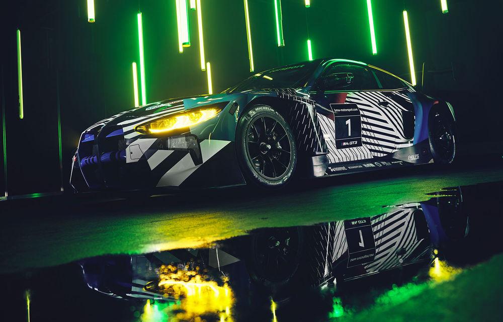Imagini noi cu prototipul viitorului BMW M4 GT3: modelul de competiții debutează în sezonul din 2021 - Poza 1