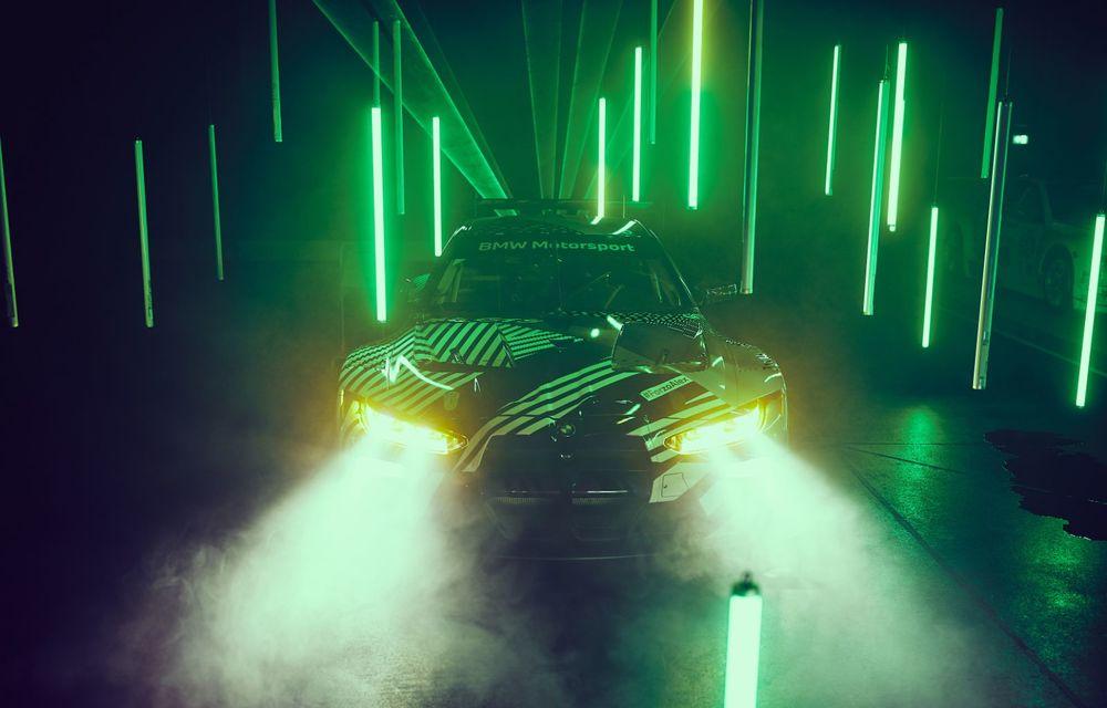 Imagini noi cu prototipul viitorului BMW M4 GT3: modelul de competiții debutează în sezonul din 2021 - Poza 2