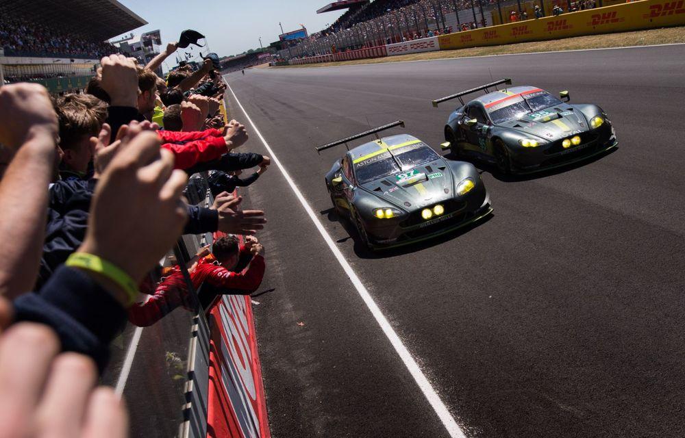 Aston Martin Racing lansează colecția The Vantage Legacy: trei mașini de circuit care marchează succesul constructorului britanic în competiții - Poza 5