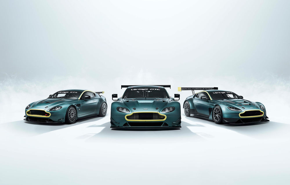 Aston Martin Racing lansează colecția The Vantage Legacy: trei mașini de circuit care marchează succesul constructorului britanic în competiții - Poza 1