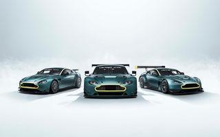 Aston Martin Racing lansează colecția The Vantage Legacy: trei mașini de circuit care marchează succesul constructorului britanic în competiții