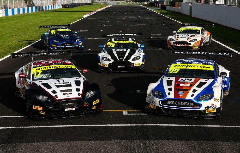 Aston Martin Racing lansează colecția The Vantage Legacy: trei mașini de circuit care marchează succesul constructorului britanic în competiții - Poza 7