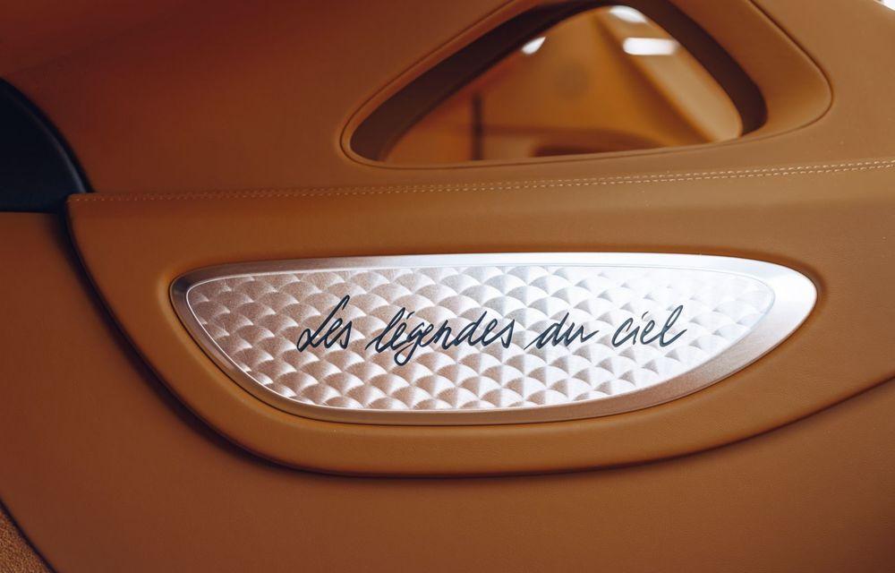 Bugatti Chiron Sport primește ediția limitată Les Légendes du Ciel: omagiu pentru primii piloți ai mărcii, care zburau în aviația franceză - Poza 18
