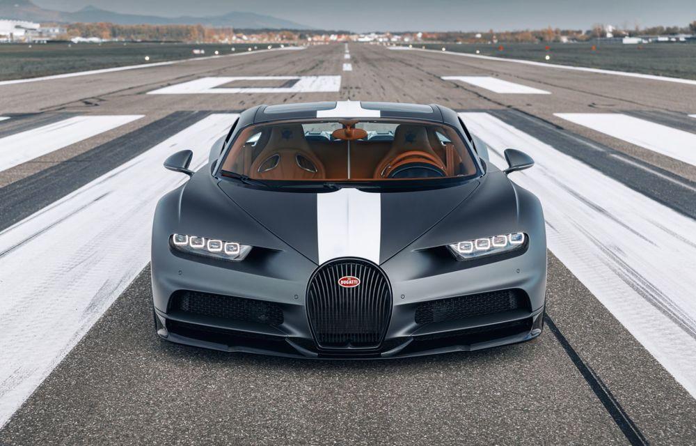 Bugatti Chiron Sport primește ediția limitată Les Légendes du Ciel: omagiu pentru primii piloți ai mărcii, care zburau în aviația franceză - Poza 2
