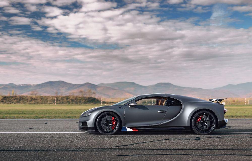 Bugatti Chiron Sport primește ediția limitată Les Légendes du Ciel: omagiu pentru primii piloți ai mărcii, care zburau în aviația franceză - Poza 3