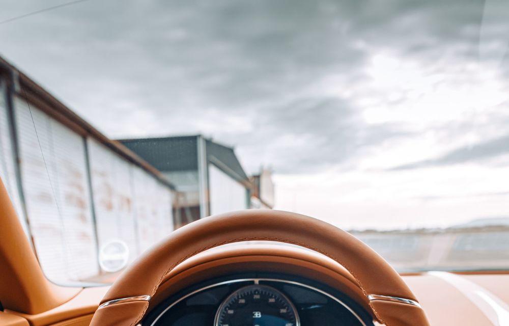 Bugatti Chiron Sport primește ediția limitată Les Légendes du Ciel: omagiu pentru primii piloți ai mărcii, care zburau în aviația franceză - Poza 17