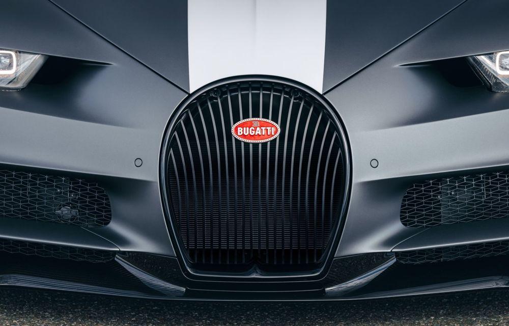 Bugatti Chiron Sport primește ediția limitată Les Légendes du Ciel: omagiu pentru primii piloți ai mărcii, care zburau în aviația franceză - Poza 8