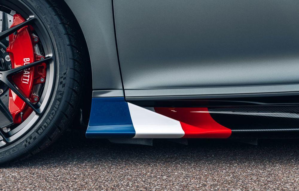Bugatti Chiron Sport primește ediția limitată Les Légendes du Ciel: omagiu pentru primii piloți ai mărcii, care zburau în aviația franceză - Poza 10