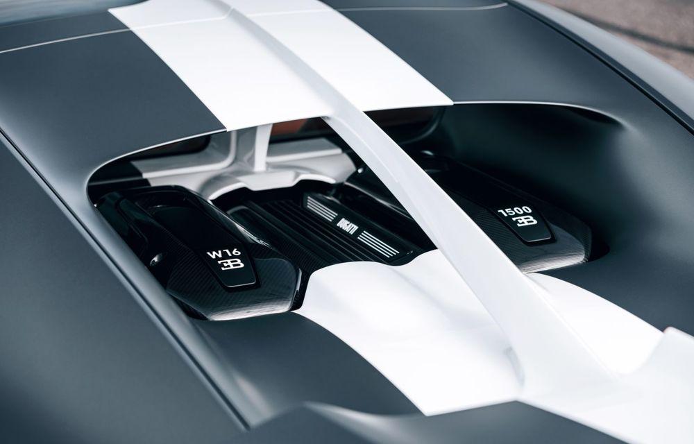 Bugatti Chiron Sport primește ediția limitată Les Légendes du Ciel: omagiu pentru primii piloți ai mărcii, care zburau în aviația franceză - Poza 9