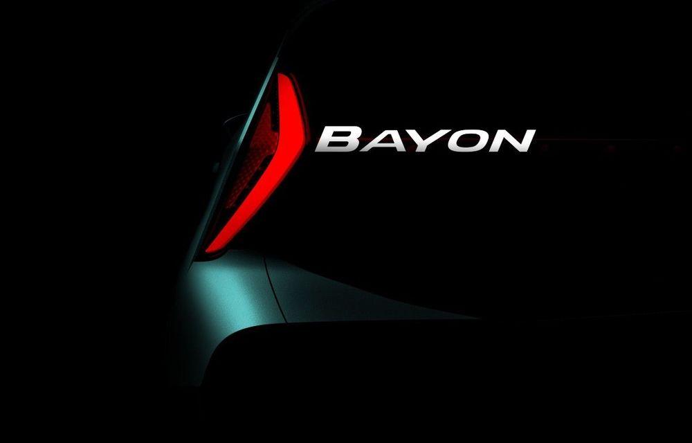 Hyundai pregătește un SUV de segment B pentru piața europeană: noul model Bayon va fi lansat în prima parte din 2021 - Poza 1