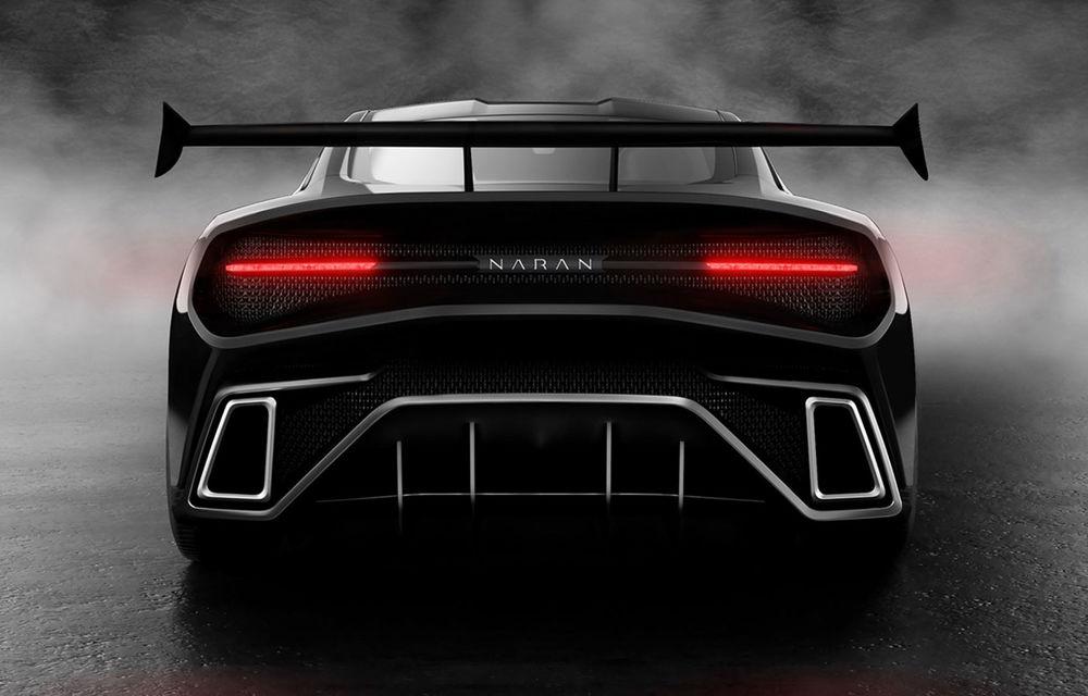 Start-up-ul Naran Automotive prezintă primul său hypercar: motor V8 de 5.0 litri și peste 1000 de cai putere - Poza 5