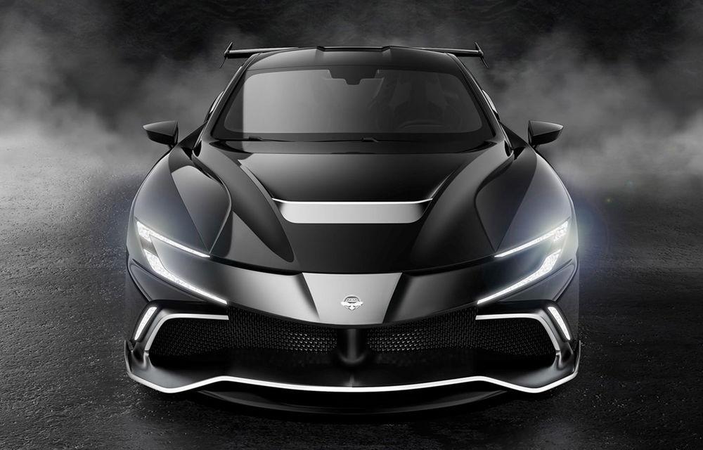 Start-up-ul Naran Automotive prezintă primul său hypercar: motor V8 de 5.0 litri și peste 1000 de cai putere - Poza 4