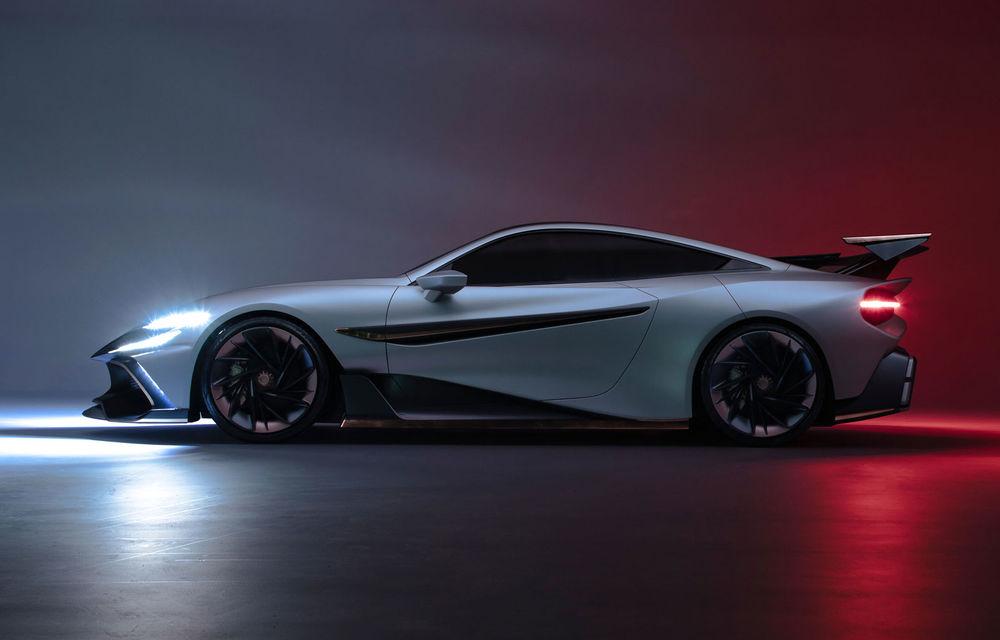 Start-up-ul Naran Automotive prezintă primul său hypercar: motor V8 de 5.0 litri și peste 1000 de cai putere - Poza 1