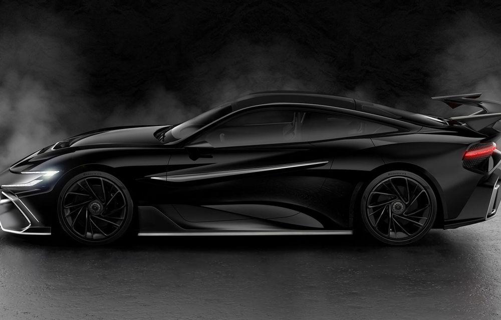 Start-up-ul Naran Automotive prezintă primul său hypercar: motor V8 de 5.0 litri și peste 1000 de cai putere - Poza 6