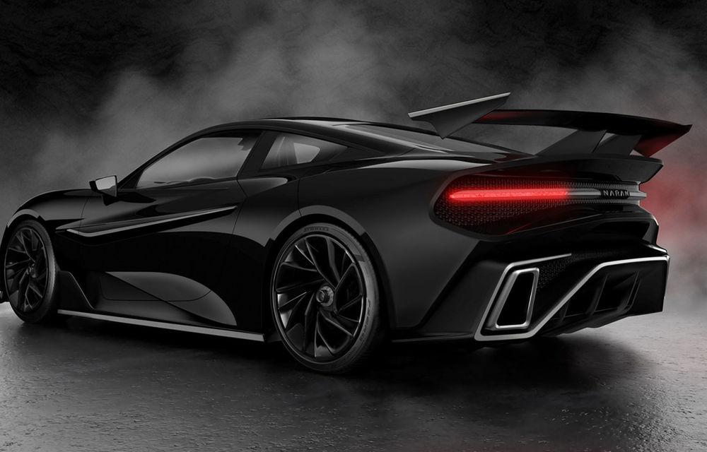 Start-up-ul Naran Automotive prezintă primul său hypercar: motor V8 de 5.0 litri și peste 1000 de cai putere - Poza 3