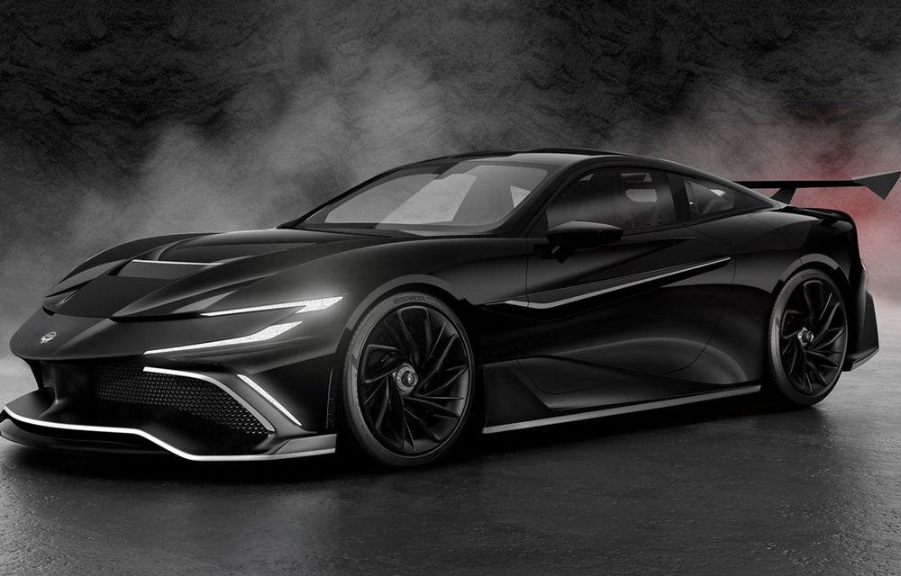 Start-up-ul Naran Automotive prezintă primul său hypercar: motor V8 de 5.0 litri și peste 1000 de cai putere - Poza 2