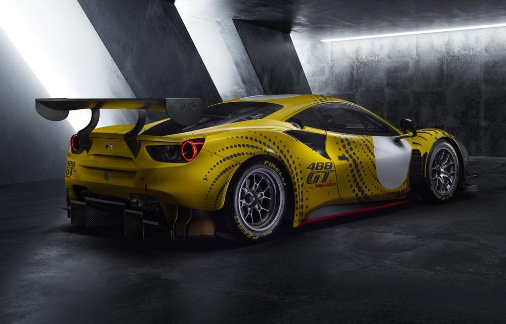 Ferrari prezintă 488 GT Modificata: supercar pentru circuit de 700 de cai putere - Poza 2