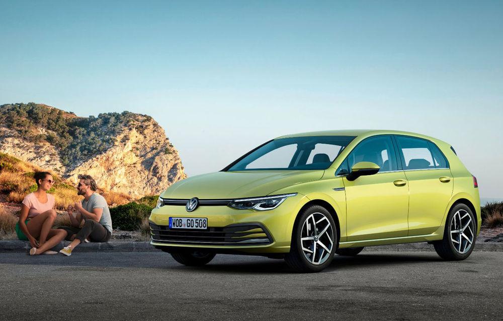 Volkswagen Golf, cea mai vândută mașină în Europa în luna octombrie: Dacia Sandero a ieșit din top 10, clienții așteaptă noua generație - Poza 1