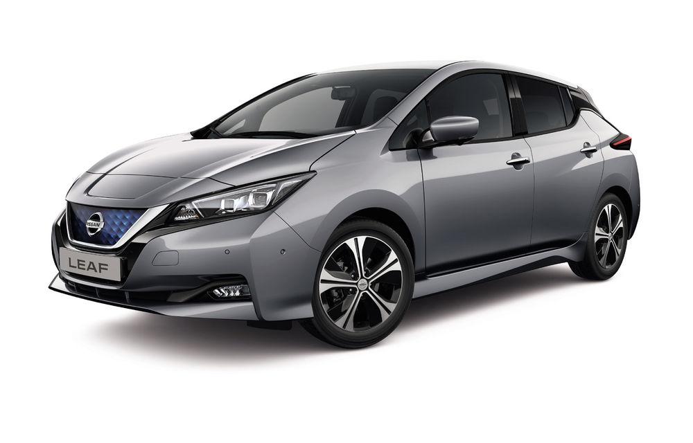 Mici îmbunătățiri pentru Nissan Leaf: modelul electric primește mai multe tehnologii și sisteme de siguranță - Poza 1