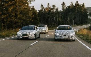 Mercedes-Benz pregătește versiuni de performanță AMG pentru sedanul electric EQE: germanii au înregistrat numele EQE 43, EQE 53 și EQE 63