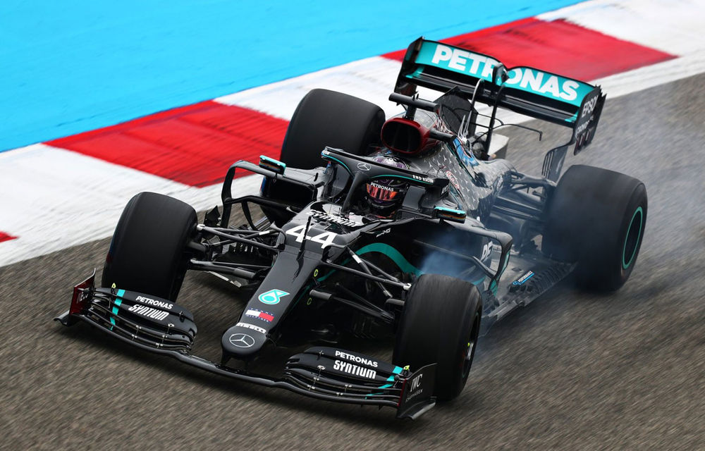 Hamilton, cel mai rapid în antrenamentele de vineri din Bahrain: Albon a suferit un accident în a doua sesiune - Poza 1