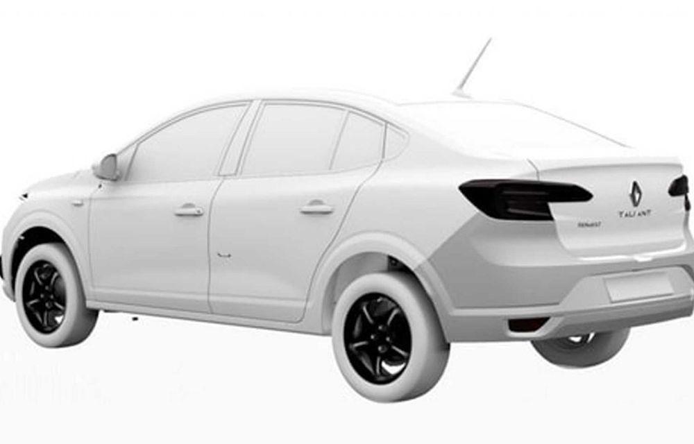 Dacia Logan va fi comercializat în America de Sud sub un nou nume: Renault Taliant - Poza 2