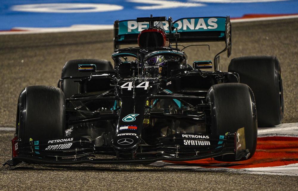 Hamilton, pole position în Bahrain în fața lui Bottas! Verstappen va pleca de pe trei, iar Ferrari a fost eliminată în Q2 - Poza 1