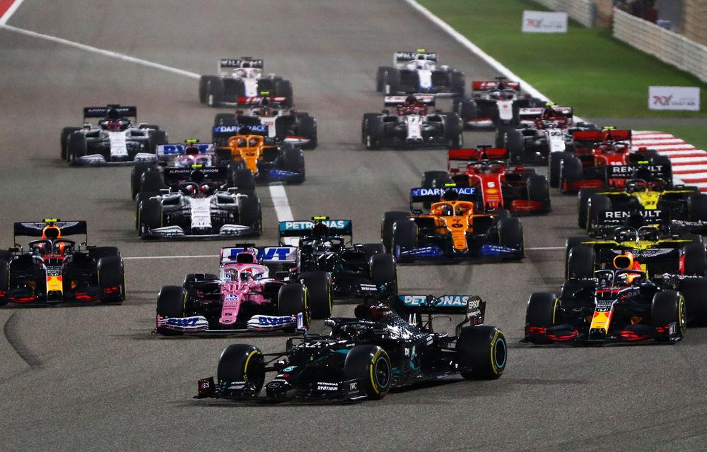 Hamilton a câștigat în Bahrain! Cursa a fost marcată de un accident pentru Grosjean, care a evadat dintr-un monopost în flăcări - Poza 1