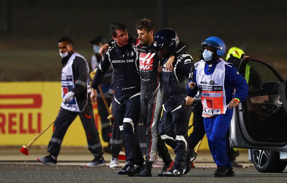 Hamilton a câștigat în Bahrain! Cursa a fost marcată de un accident pentru Grosjean, care a evadat dintr-un monopost în flăcări - Poza 3