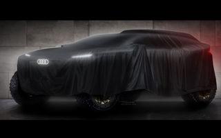Back in Business: Audi anunță intrarea în Raliul Dakar cu o mașină electrică cu motor TFSI ca range extender și se pregătește din nou de Le Mans