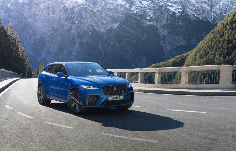 Jaguar a prezentat F-Pace SVR facelift: 550 de cai putere și 0-100 km/h în 4 secunde - Poza 2