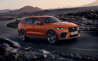 Jaguar a prezentat F-Pace SVR facelift: 550 de cai putere și 0-100 km/h în 4 secunde