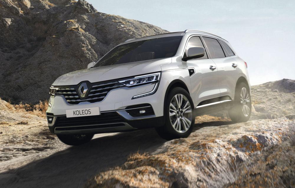 Îmbunătățiri pentru Renault Koleos: SUV-ul francez primește câteva noutăți de design și sistemul de asistență Hill Descent Control - Poza 1