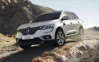 Îmbunătățiri pentru Renault Koleos: SUV-ul francez primește câteva noutăți de design și sistemul de asistență Hill Descent Control