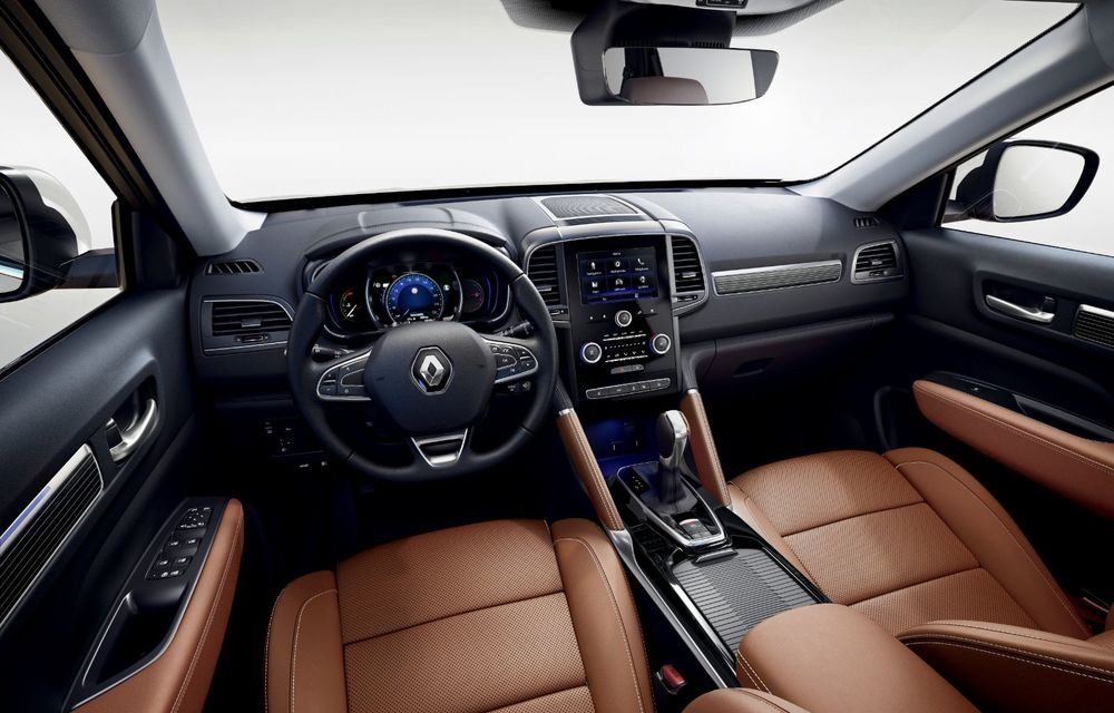 Îmbunătățiri pentru Renault Koleos: SUV-ul francez primește câteva noutăți de design și sistemul de asistență Hill Descent Control - Poza 5