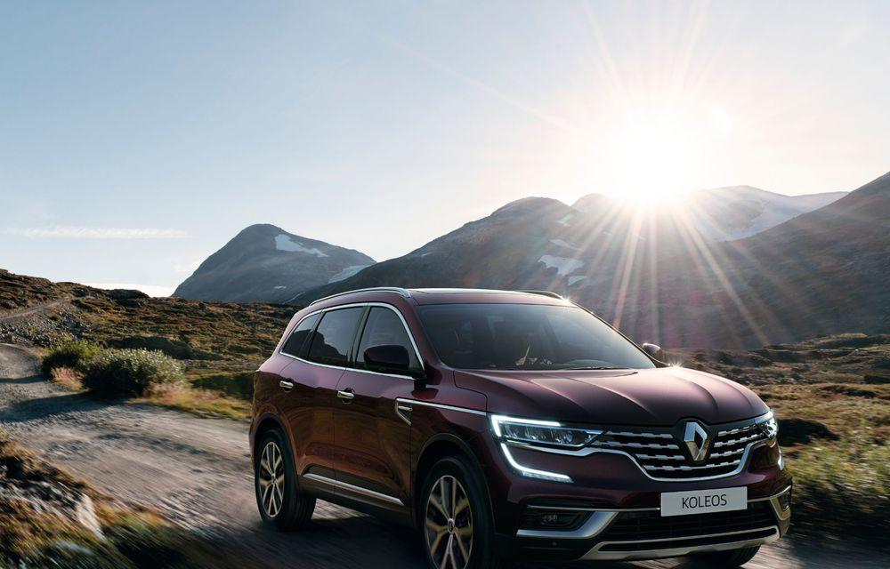 Îmbunătățiri pentru Renault Koleos: SUV-ul francez primește câteva noutăți de design și sistemul de asistență Hill Descent Control - Poza 2