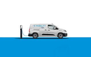 Peugeot Partner, Citroen Berlingo Van și Opel Combo vor avea versiuni electrice: debutul este programat pentru anul viitor