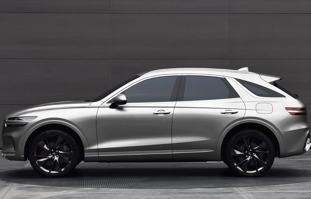 Primele imagini cu noul SUV Genesis GV70: detaliile tehnice vor fi anunțate în 8 decembrie - Poza 6