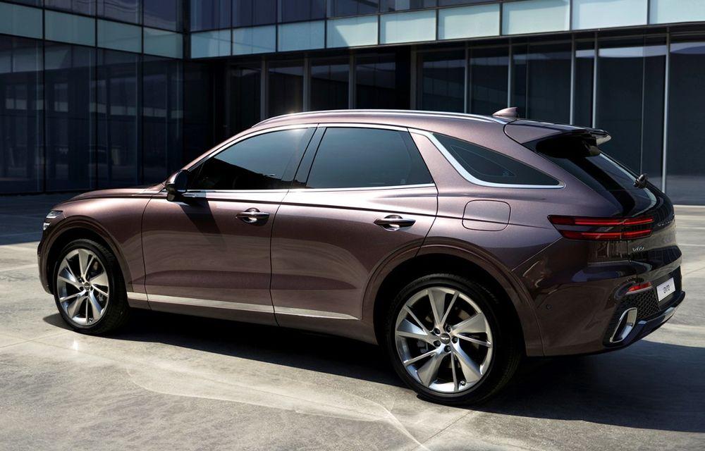 Primele imagini cu noul SUV Genesis GV70: detaliile tehnice vor fi anunțate în 8 decembrie - Poza 5