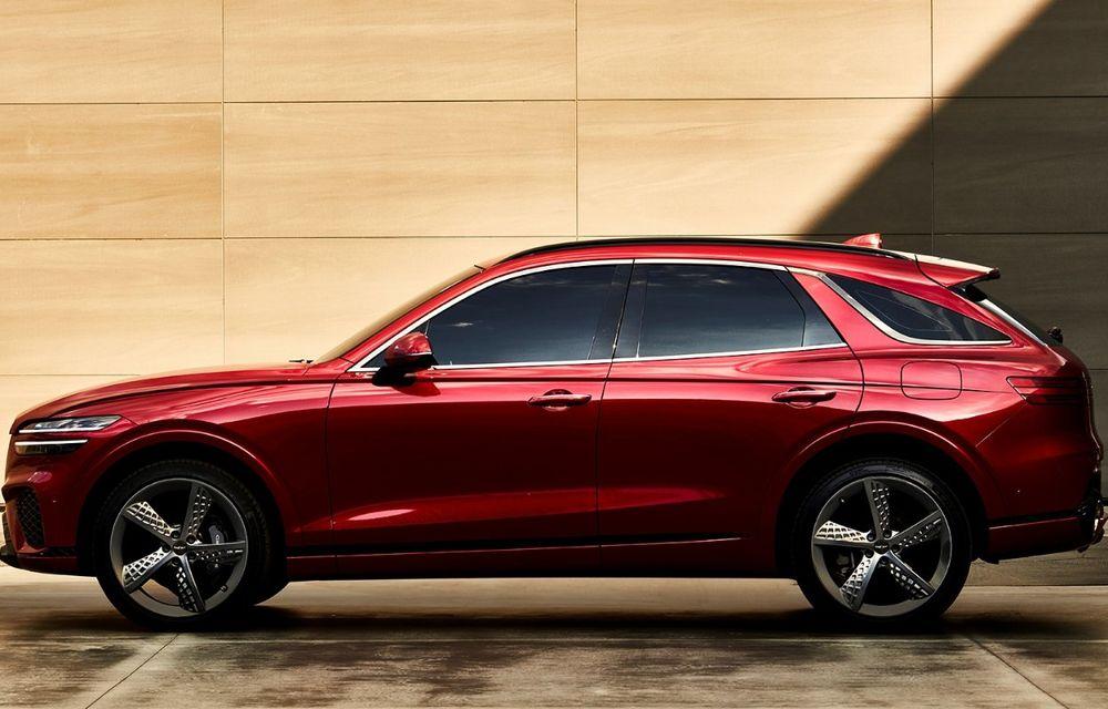 Primele imagini cu noul SUV Genesis GV70: detaliile tehnice vor fi anunțate în 8 decembrie - Poza 8