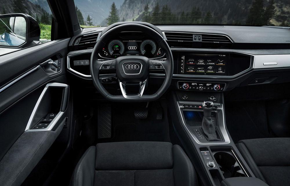 Audi introduce noile Q3 și Q3 Sportback plug-in hybrid: motorizare cu 245 CP și autonomie de până la 51 de kilometri - Poza 6