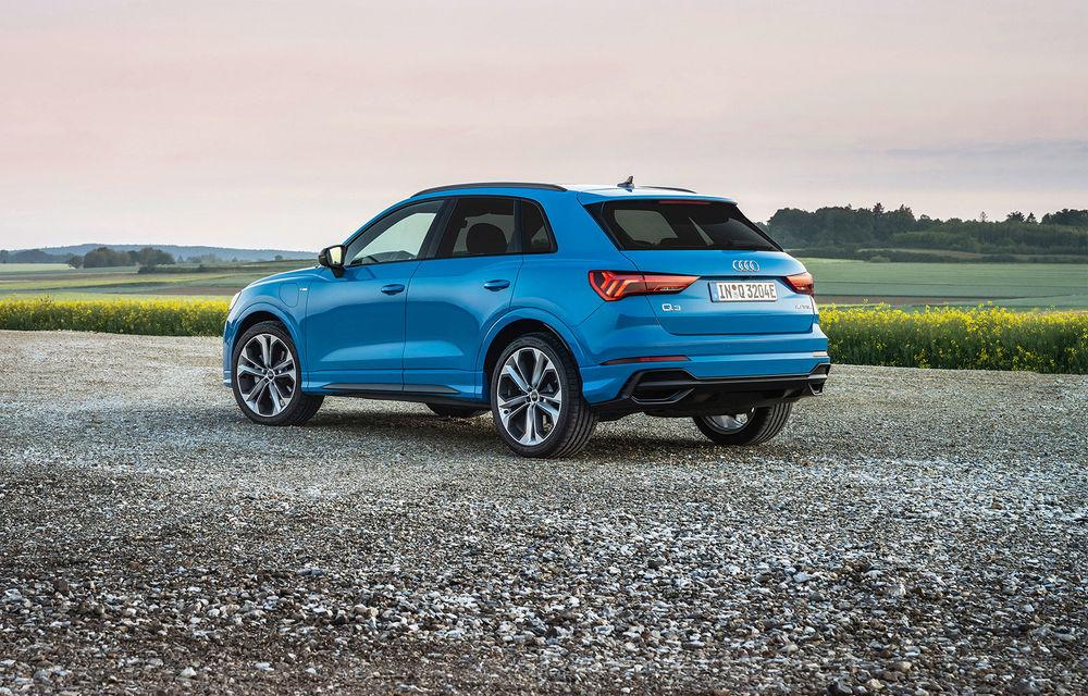 Audi introduce noile Q3 și Q3 Sportback plug-in hybrid: motorizare cu 245 CP și autonomie de până la 51 de kilometri - Poza 3