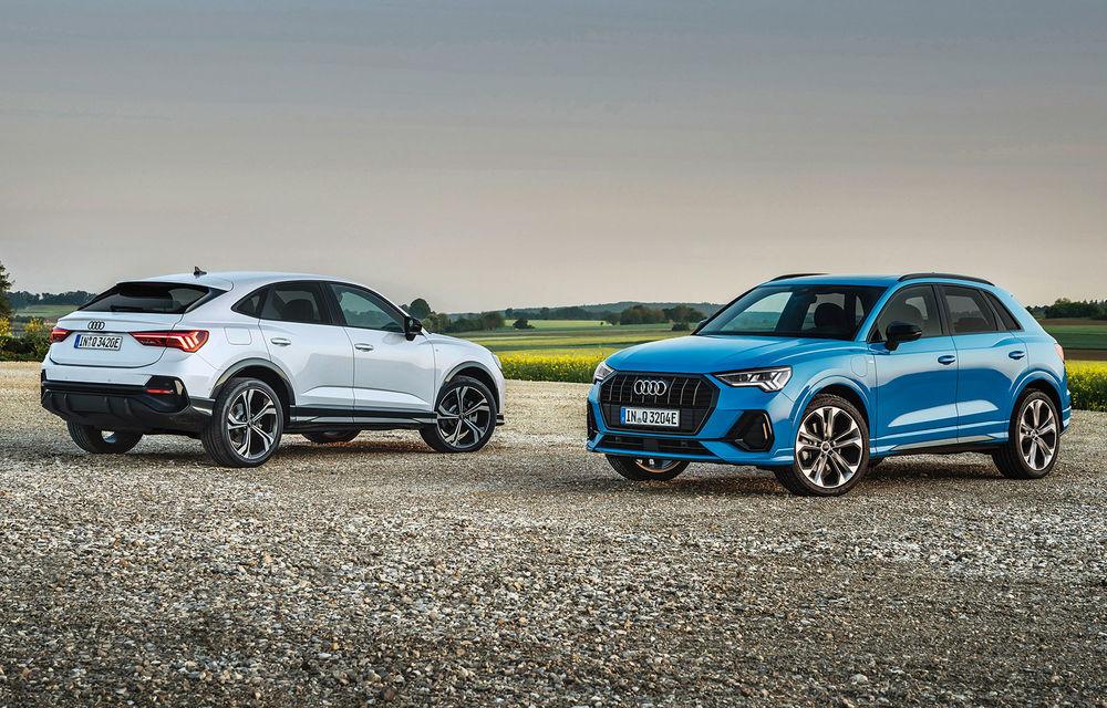 Audi introduce noile Q3 și Q3 Sportback plug-in hybrid: motorizare cu 245 CP și autonomie de până la 51 de kilometri - Poza 1
